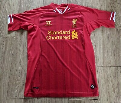 £13.50 • Buy Liverpool FC Home Shirt Jersey 2013-14 XL Boys Small Adults Warrior