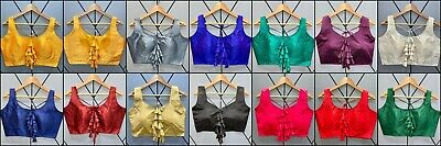 £9.99 • Buy Designer Party Wear Fancy Saree Blouse Attractive Look Stitch Choli Blouse RK