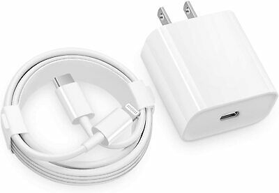 AU13.95 • Buy IPhone 7 8 S Plus X XR XS 11 Pro Max IPod/iPad Mini Wall Charger Data Cable