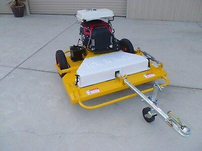 """AU7550 • Buy Tow Behind Slasher ATV Quad Bike Mower Tractor TOW AND MOW 46"""" Cutting Deck"""