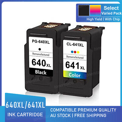 AU35.92 • Buy Non-OEM PG-640XL CL-641XL Ink For Canon PIXMA MG3660 MG4160 MG4260 MX456 MX526