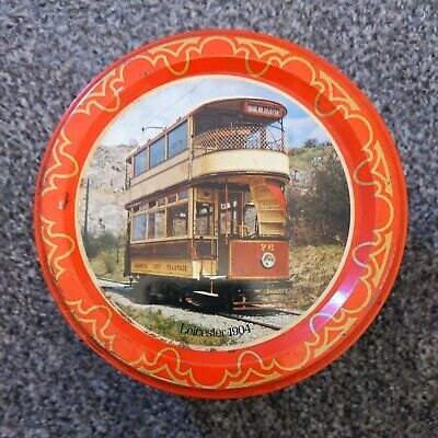 £4.99 • Buy Vintage Quality Street/Mackintosh's Confectionery/Sweet Tin Trams Leicester 1904