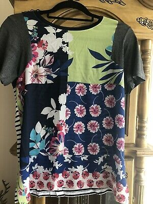 £1.99 • Buy Next Lovely Bold Floral Print Top Size 8
