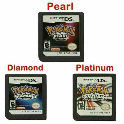$13.99 • Buy New Pokemon Platinum/Pearl/Diamond Game Card For 3DS NDSI NDS NDSL Lite US