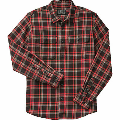 $29.99 • Buy Filson Scout Shirt - XS - 20049628 Lightweight Flannel Black Red Brown Check