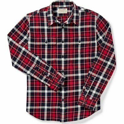 $29.99 • Buy Filson Scout Shirt - XS - 20049628 Lightweight Flannel Black Red White Check