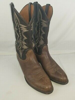 $105 • Buy Lucchese Cowboy Boots Bullhide 10.5 D