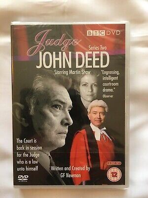 £4.98 • Buy JUDGE JOHN DEED - Series 2 - Complete DVD Martin Shaw. NEW AND FACTORY SEALED.