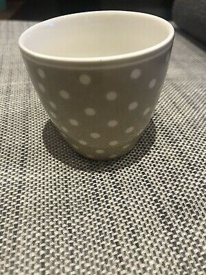 £10 • Buy Greengate Mug/ Latte Cup In Beige Spotty,small 7cm, Never Used Brand New.