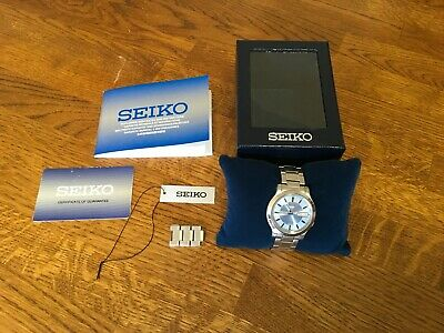 £19.99 • Buy Seiko 5 Automatic Men's Watch Light Blue Dial With Day & Date