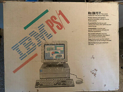£129.41 • Buy Rare IBM PS/1 Vintage Computer BOX ONLY
