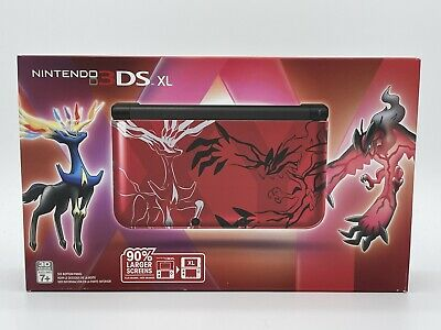 $999.99 • Buy Pokemon X Y Xerneas Yveltal RED Edition Nintendo 3DS XL Console Brand New Sealed