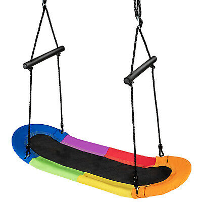 £29.99 • Buy Tree Swings Nest Hanging Surfing Swing Chair With Adjustable Rope Safe Handle