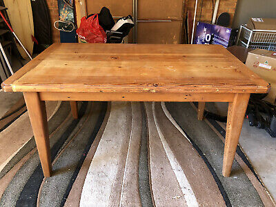AU200 • Buy 1996 Recycled Oregon Heavy Dining Handcrafted Table