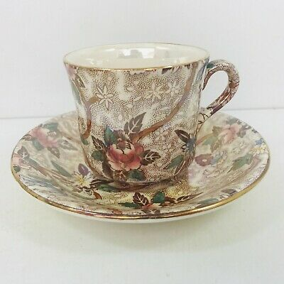 £10 • Buy Vintage Maling Ware Cup And Saucer Set Lustre Ware