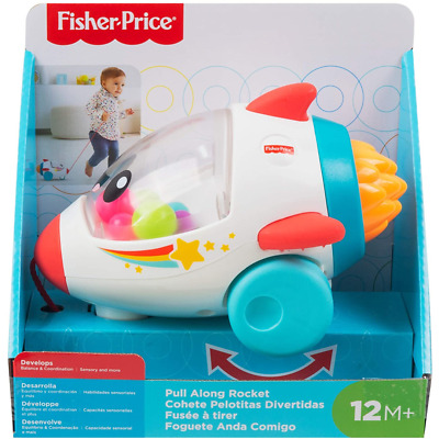 £12.99 • Buy Fisher-Price Dream Land Pull Along Rocket 12+ Months 1+ Year Baby Toddler Toy