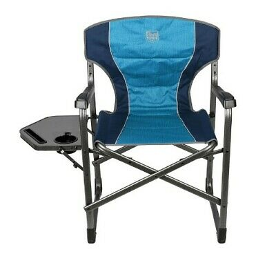 £99.99 • Buy Leightweight Sturdy Folding Outdoor Camping, Director's Chair With Side Table UK