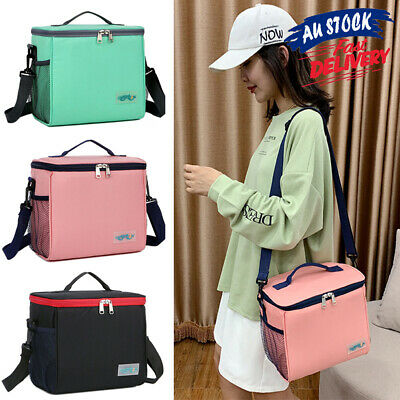 AU16.65 • Buy Portable Outdoor Thermal Insulated Cooler Bag Lunch Bag Food Container
