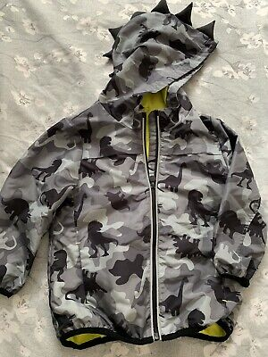 £6.99 • Buy F&F Boy's Dinosaur Print Coat With Hood Age 3-4 Years Great Condition