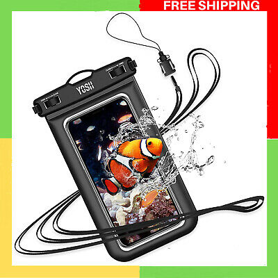£10.35 • Buy YOSH IPX8 Waterproof Phone Case, Underwater Phone Pouch Dry Bag With Lanyard For