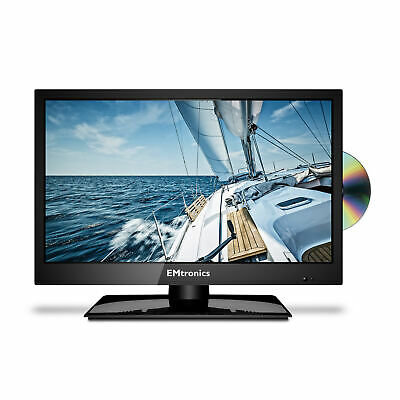 £124.99 • Buy EMtronics 19  Inch HD Ready LED TV With Freeview HD And Built In DVD Player