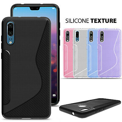 £1.80 • Buy CLEAR Case For Huawei P20 P30 P40 Pro Lite Mate Cover Shockproof Silicone Gel