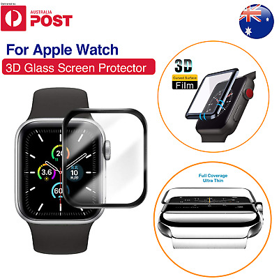 AU6.27 • Buy For Apple Watch IWatch Series 2 3 4 5 6 SE 38/40/42/44mm Glass Screen Protector