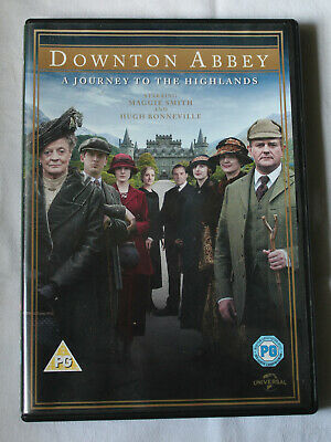 £5 • Buy DOWNTOWN ABBEY - A Journey To The Highlands, DVD