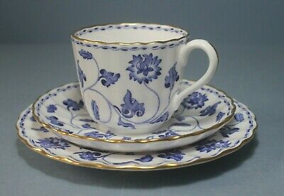 £39 • Buy Rare Spode COLONEL BLUE Teacup, Saucer & Plate. Y6235    C1960s