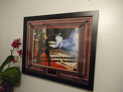 £363 • Buy Al Pacino Signed + Scarface COA **PSA/DNA WITNESSED** 11''x14''