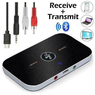 £7.45 • Buy 2 In 1 Wireless Bluetooth Audio Transmitter Receiver HIFI Music Adapter AUX RCA