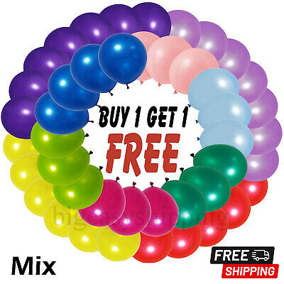 £1.99 • Buy 5  Inch Small Latex Balloons WHOLESALE Party Birthday 100 Wedding All Decoration