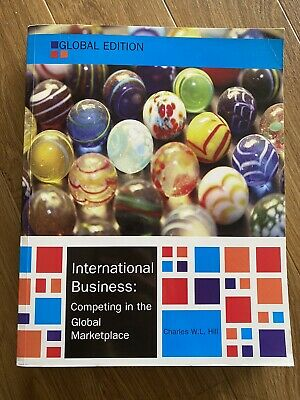 £20 • Buy International Business, Global Edition By Charles W. L. Hill (Paperback, 2014)