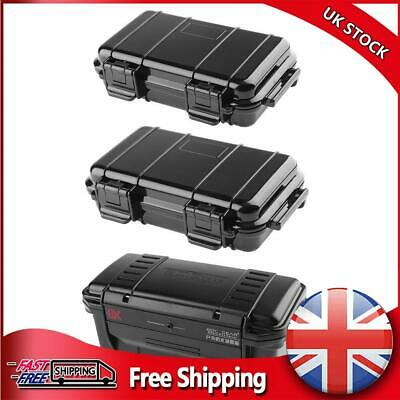 £9.99 • Buy Outdoor Shockproof Sealed Waterproof Safety Case ABS Plastic Tool Dry Box
