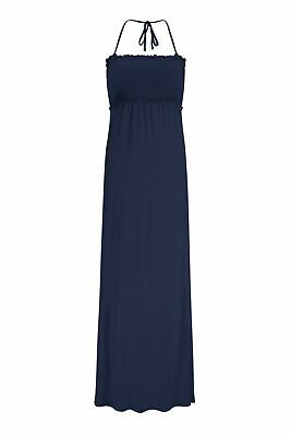 £7.99 • Buy Marks And Spencer Jersey Shirred Maxi Beach Dress.Size M -12-14 BNWT