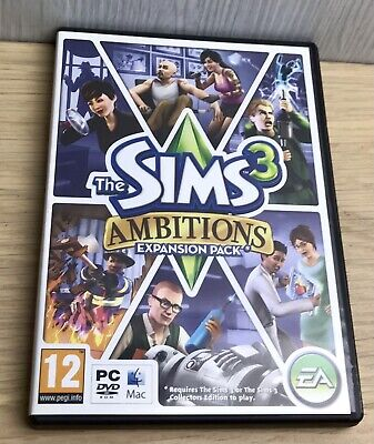 £3 • Buy The Sims 3: Ambitions (PC: Mac, 2010) Simulation Pretend Fun Live Your Life Game