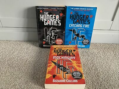 £9.90 • Buy The Hunger Games Trilogy Complete 3 Book Set Catching Fire/Mockingjay Collins