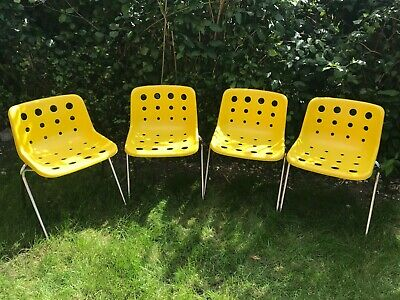 £200 • Buy Robin Day Polo Chairs Made For Hille X 4