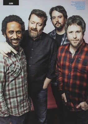 £3.99 • Buy Elbow - Give Us A Cuddle Pete - Full Size Magazine Advert