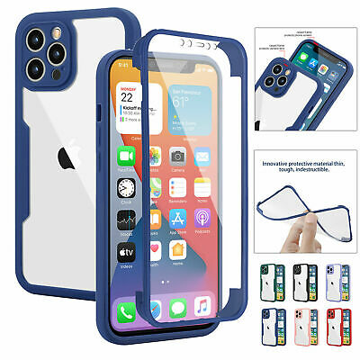 £4.99 • Buy Shockproof 360 Body Full Case For IPhone 12 11 Pro Max XR X XS Max 7 8 Plus SE