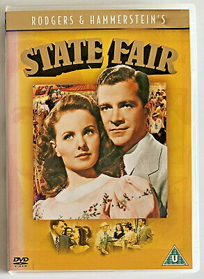 £3.99 • Buy State Fair (DVD, 2004) Musical Film, Rodgers And Hammerstein, Region 2