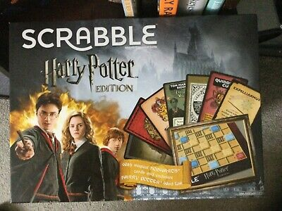 £12 • Buy Harry Potter Scrabble Limited Edition Board Game Complete - Excellent Condition