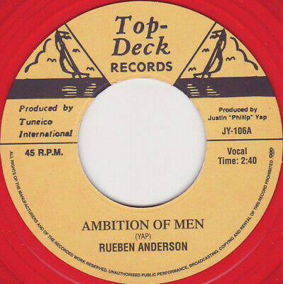£11.95 • Buy NEW- REUBEN ANDERSON- Ambition Of Men/ ROLAND ALPHONSO- Non-stop - JY-106