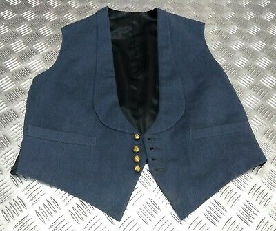 £99.99 • Buy RAF Kings Crown Vintage Buttoned Mess Dress Officers Issue Waistcoat EBYT477