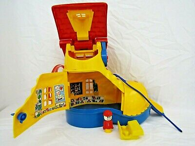 £29.99 • Buy Matchbox Vintage Retro Yellow Boot School House Playset Toy 1983 With Bell J1