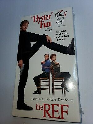 AU16.10 • Buy The Ref (VHS, 1995) Denis Leary, Kevin Spacey - New Sealed