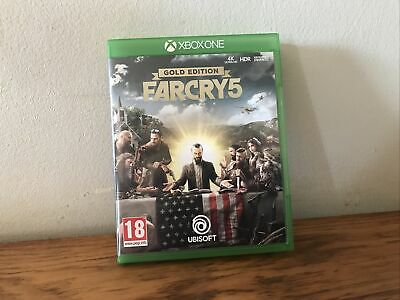 AU18.79 • Buy Pre-owned ! Gold Edition Farcry 5 * Xbox One Game *