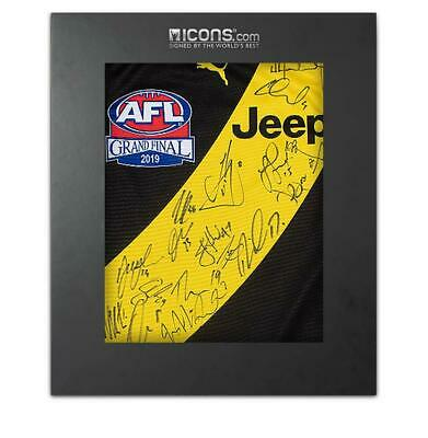 AU1142.33 • Buy Richmond Squad Signed 2019 AFL Guernsey In Deluxe Packaging Autograph