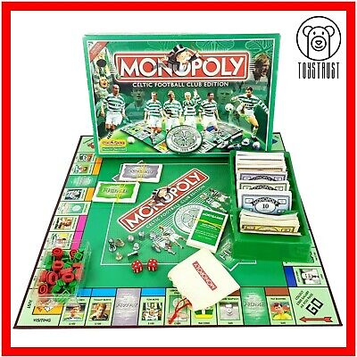 £49.99 • Buy Monopoly Celtic Football Club Edition Board Game Soccer Celtic FC Team Family