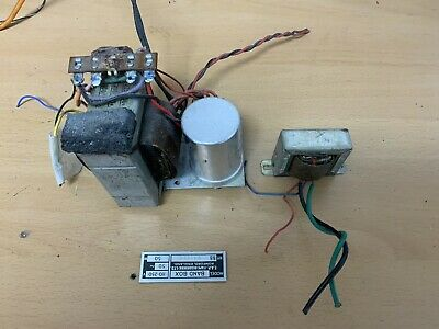 £19.99 • Buy Vintage Valve Mains & Output Transformer Pulled From 1960s Reel To Reel